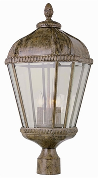 "Trans Globe 23"" Outdoor Post Light - Traditional 5153"