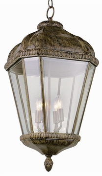 "Trans Globe 25.75"" Outdoor Pendant Lighting Fixture - Traditional 5156"