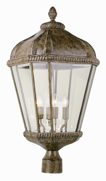 "Trans Globe 26.25"" Outdoor Post Lighting Fixture - Traditional 5154"