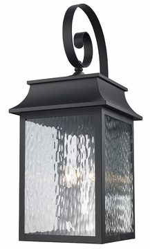 "Trans Globe 26.5"" Exterior Wall Lighting - Black 50352-BK"