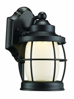 "Trans Globe LED 10"" Exterior Wall Lantern - Bronze LED-40900-ROB"