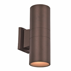 "Trans Globe LED 10"" Outdoor Wall Sconce - Bronze LED-40960-BZ"