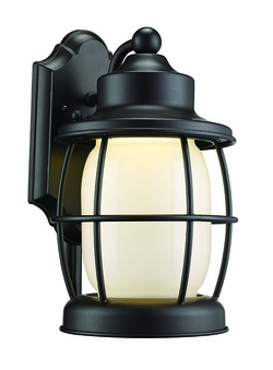 "Trans Globe LED 11.5"" Outdoor Lighting Sconce - Bronze LED-40901-ROB"