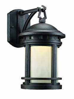 "Trans Globe LED 12.5"" Outdoor Wall Mount - Rust LED-40370-RT"
