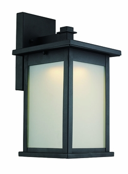 "Trans Globe LED 14.5"" Exterior Wall Light - Black LED-40911-BK"