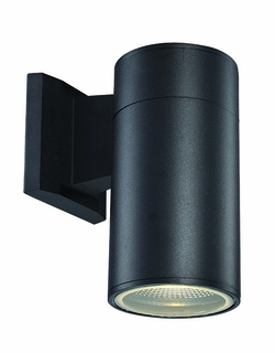 "Trans Globe LED 8"" Outdoor Lighting Sconce - Black LED-50021-BK"