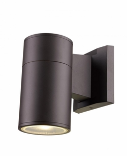 "Trans Globe LED 8"" Outdoor Wall Mount - Bronze  LED-50021-BZ"