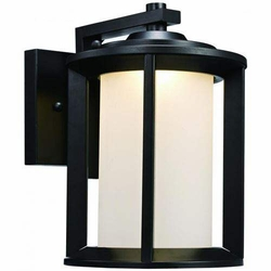 Trans Globe LED Outdoor Wall Mount - Black LED-40820-BK