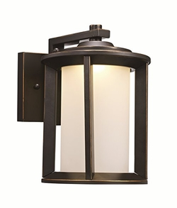 Trans Globe LED Outdoor Wall Mounted Light - Bronze LED-40820-ROB