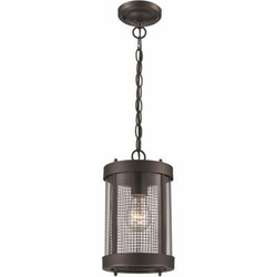 Trans Globe Outdoor Pendant Lighting 50202-BK