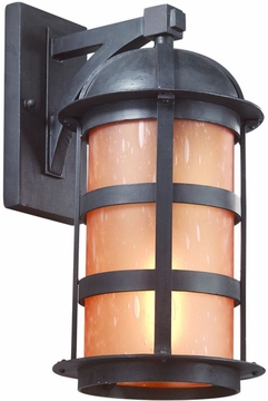 "Troy Aspen 16.5"" Outdoor Wall Lighting Fixture - Natural Bronze B9253NB"