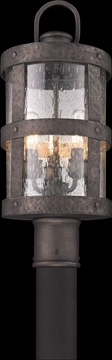 Troy Barbosa Outdoor Post Lighting Fixture - Bronze P3316