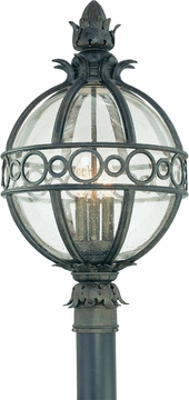 Troy Campanile Tropical Outdoor Post Light P5006CB