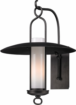 "Troy Carmel 22.25"" Exterior Wall Lighting - Graphite B3333"