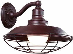 Troy Circa 1910 Nautical Outdoor Wall Lighting Fixture - Old Rust B9271OR