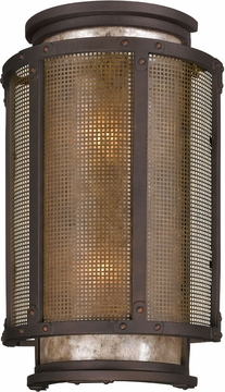 "Troy Copper Mountain 18.25"" Outdoor Wall Sconce Lighting - Bronze B3273"