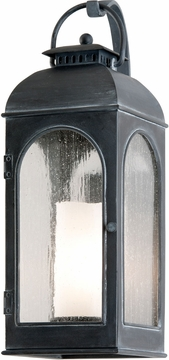 "Troy Derby 17.5"" Exterior Wall Lantern - Iron B3281"