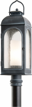 Troy Derby Outdoor Post Lantern - Iron P3285