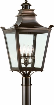 Troy Dorchester Transitional Outdoor Post Lantern P9497EB