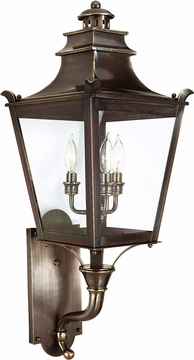 Troy Dorchester Transitional Outdoor Wall Lighting Fixture B9493EB