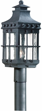 Troy Dover Fluorescent Outdoor Post Light - Natural Bronze PF8972NB