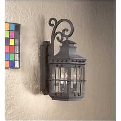 Troy Dover Traditional Exterior Wall Light - Natural Bronze BCD8971NB