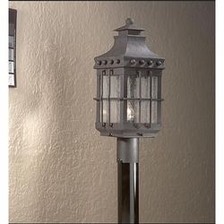 Troy Dover Traditional Outdoor Lighting Post Lamp PCD8972NB