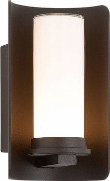 "Troy Drake 9"" Outdoor Wall Sconce Lighting - Bronze B3391"