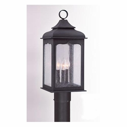 Troy Henry Street Classic Outdoor Post Lantern P2015CI