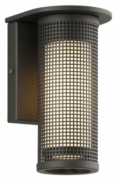"""Troy Hive 8.5"""" Outdoor Wall Mount - Contemporary B3741"""