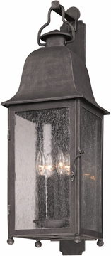 "Troy Larchmont 31.5"" Outdoor Wall Mounted Light - Pewter B3213"