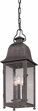 Troy Larchmont Outdoor Pendant Light - Pewter F3217