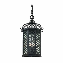 "Troy Los Olivos 20"" Outdoor Hanging Lighting - Mediterranean 2377OI"