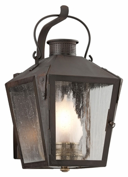"Troy Nantucket 14"" Outdoor Wall Sconce Lighting - Traditional B3761"