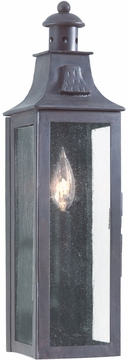 Troy Newton Traditional Exterior Wall Light - Old Bronze BCD9007OBZ