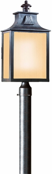 Troy Newton Transitional Fluorescent Outdoor Lighting Post Lamp PF9006OBZ