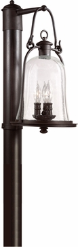 "Troy Owings Mill 20.25"" Outdoor Lamp Post - Bronze P9465NB"