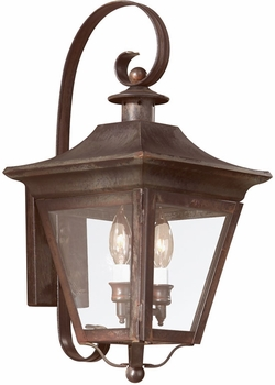 "Troy Oxford 20"" Exterior Light Sconce - Traditional B8930"