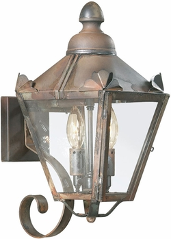 "Troy Preston 15.75"" Outdoor Wall Lighting - B8940"