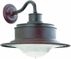 Troy South Street Exterior Wall Lighting Fixture - Old Rust B9391OR