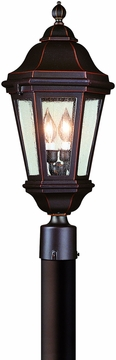 Troy Traditional Outdoor Post Light PCD6832ABZ