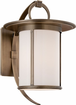 "Troy Wright 16"" Exterior Wall Light - Brass B3243"