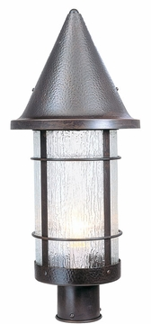 "Valencia 19.25"" Outdoor Lamp Post By Arroyo Craftsman - Nautical"