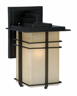 "Vaxcel Ashbee 11"" Exterior Wall Lighting AB-OWD070NB"