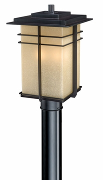 Vaxcel Ashbee Outdoor Post Light AB-OPU090NB