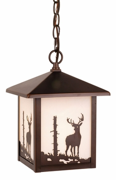 Vaxcel Bryce Outdoor Pendant Light Fixture OD33586BBZ
