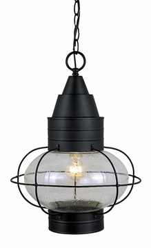 Vaxcel Chatham Black Hanging Outdoor Light OD21836TB
