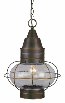 Vaxcel Chatham Bronze Outdoor Pendant Lighting OD21836BBZ