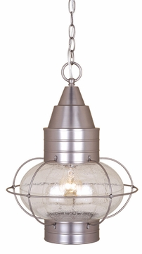 Vaxcel Chatham Brushed Nickel Outdoor Pendant Light OD21836BN