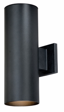"Vaxcel Chiasso 14.25"" Black Outdoor Wall Light CO-OWB052TB"